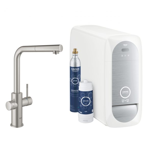 GROHE Blue Home L-Auslauf Premium_matt