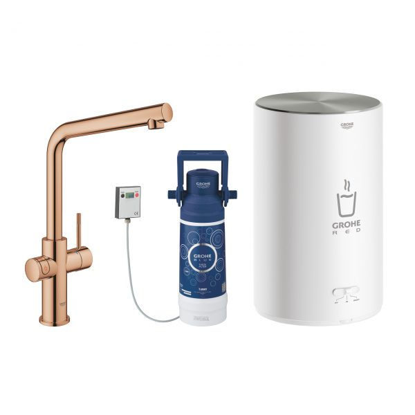 GROHE Red L-Auslauf M-Boiler_warm sunset